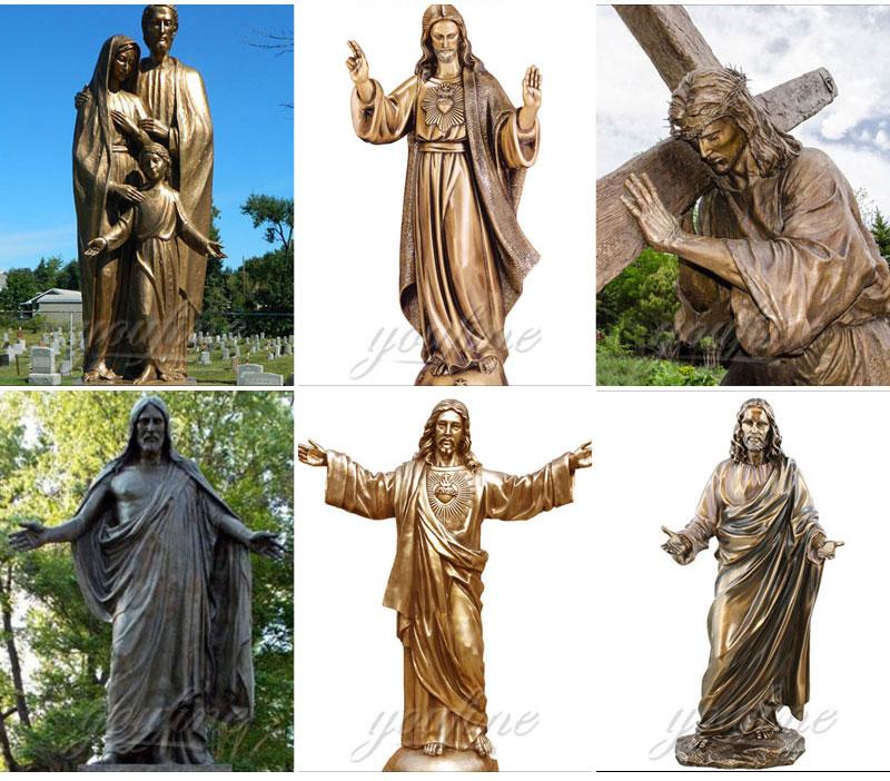 religious jesus statues
