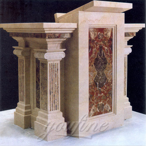 2018 Direct Factory Religious Marble Pulpit Large Variety in Stock Now