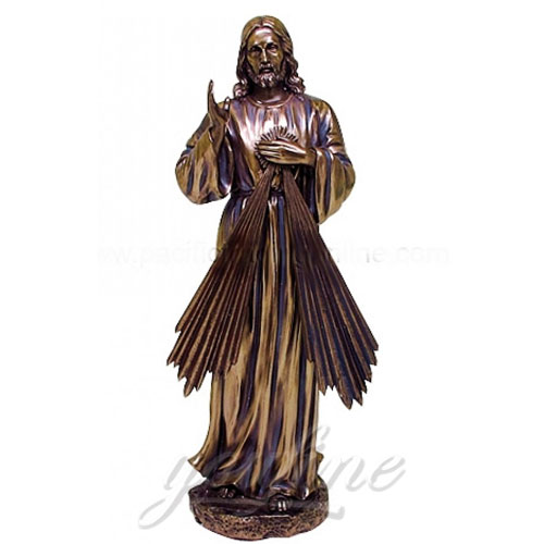 2018 High Quality Home Decor Antique Bronze Jesus Religious Statues for Sale