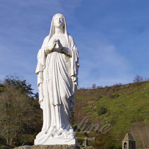 Blessed Garden Life Size Virgin Mary Religious Statues for sale