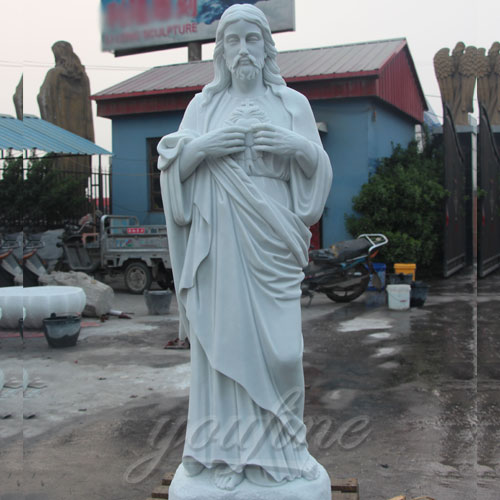 Factory Direct Supply Religious sculptures of Jesus Marble Statue on Hot Selling