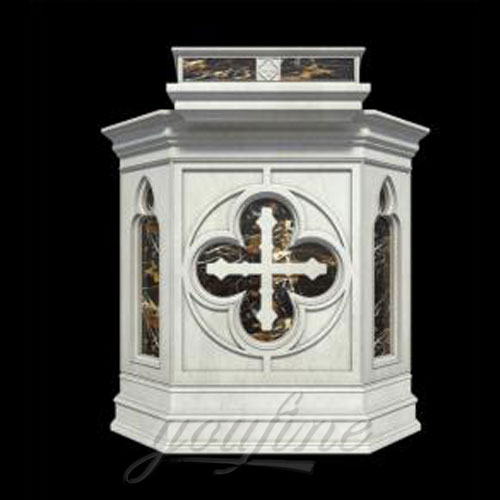 Hot Sale Religious Statues of Luxury Marble Pulpit for Church