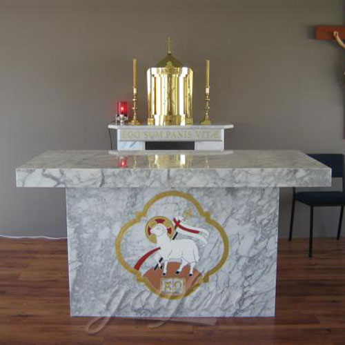 Hot Selling Religious Statues of Marble Church Altar from Factory