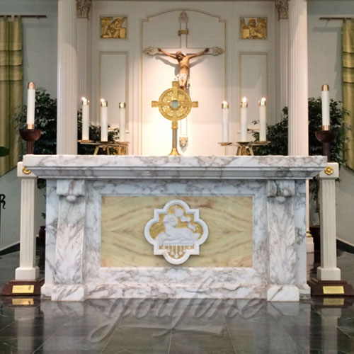 Religious Statues of Marble Altars Table for Church