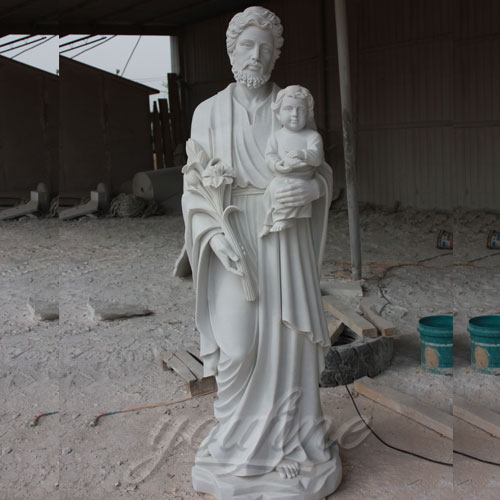Park Decoration Life Size Religious statues of Saint Joseph for sale