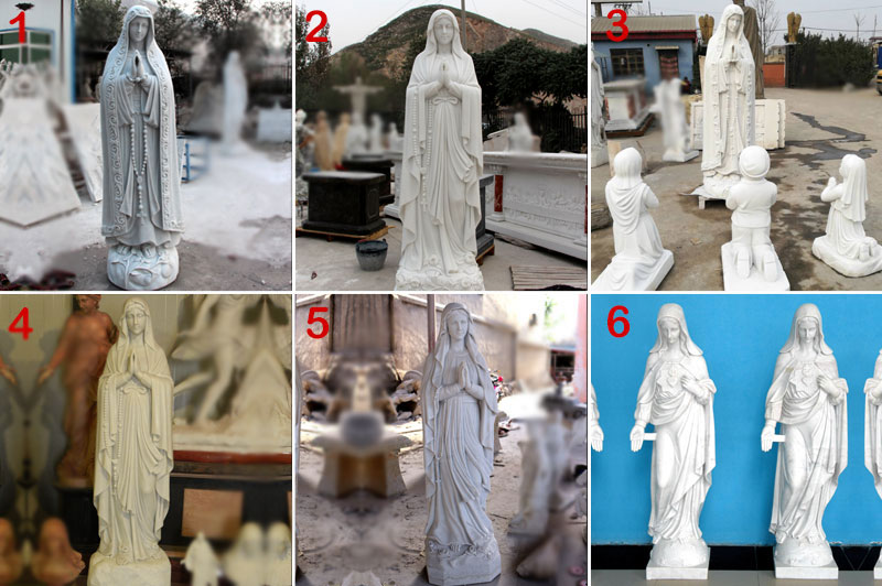 Virgin Mary Mother Large Garden Statue designs