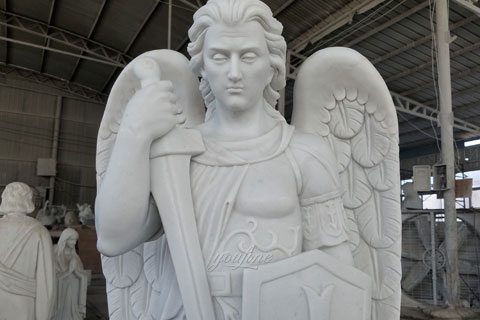 Religious statues of st michael statues design