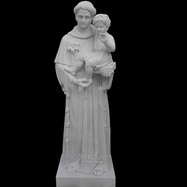 Religious marble statues of St. Anthony for sale