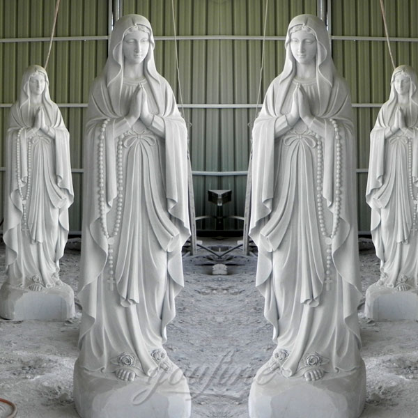 Church religious blessed mother mary statues on sale