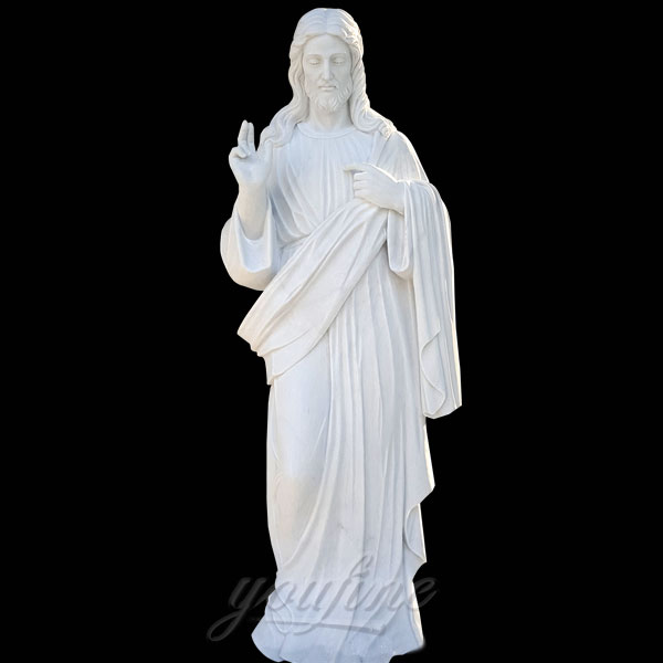 Large jesus religious statues around the world for sale