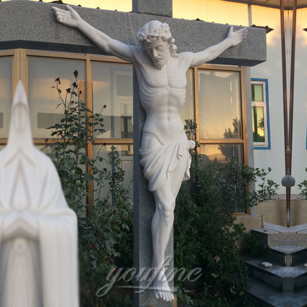White stone outdoor catholic fatima costs for church - Exterior church crosses for sale ...