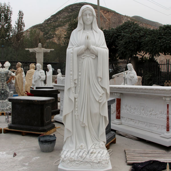 Our Lady of Lourdes statues in the general size for outside