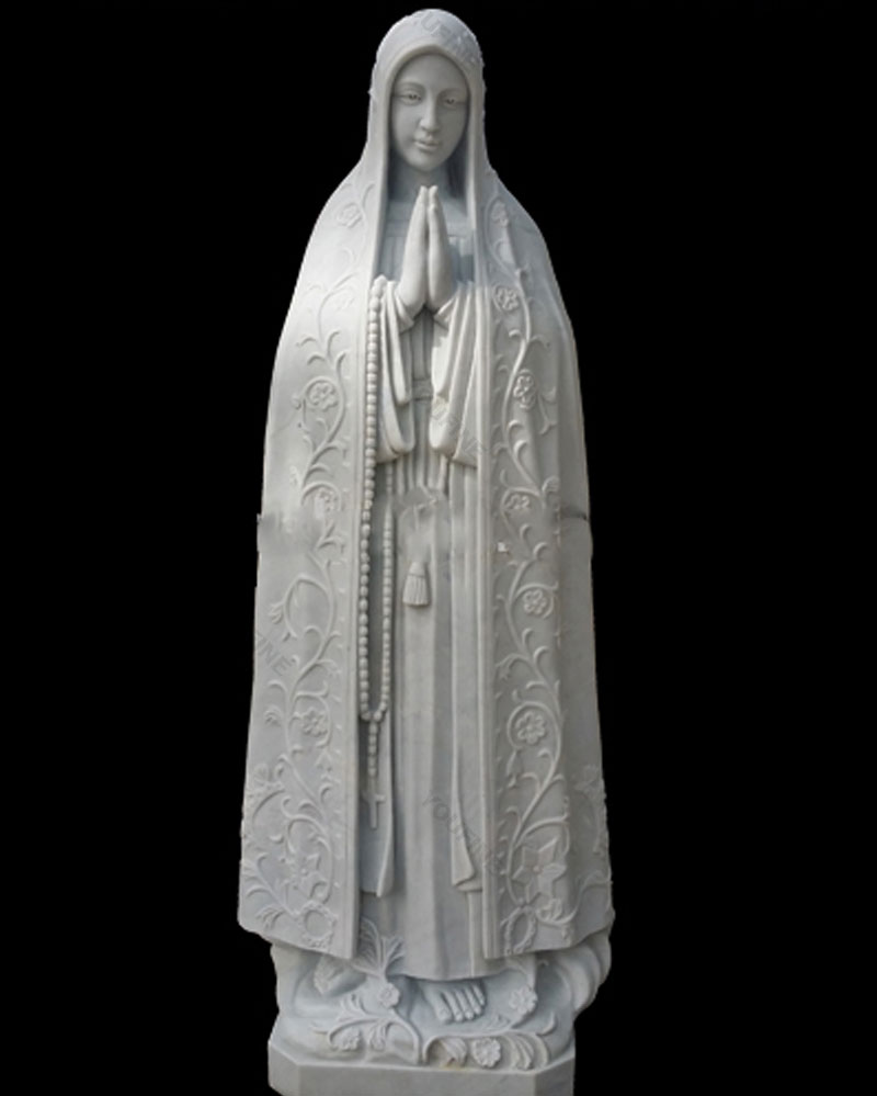 Our lady of fatima garden statues 5.6 foot from portugal for sale designs