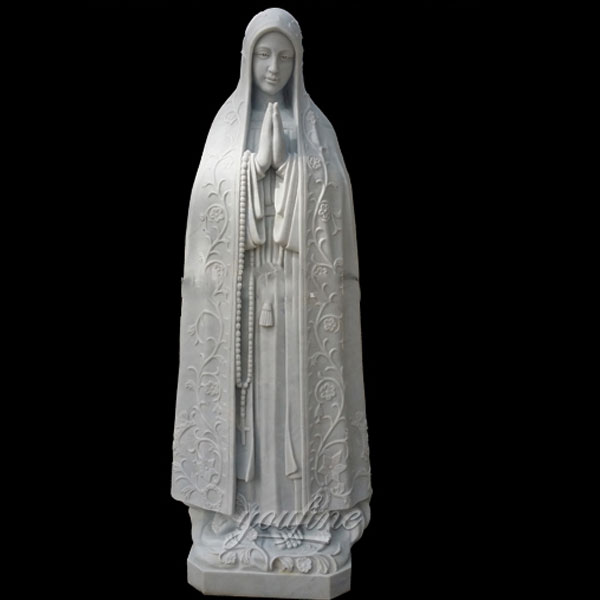 Our lady of fatima garden statues 5.6 foot from portugal for sale