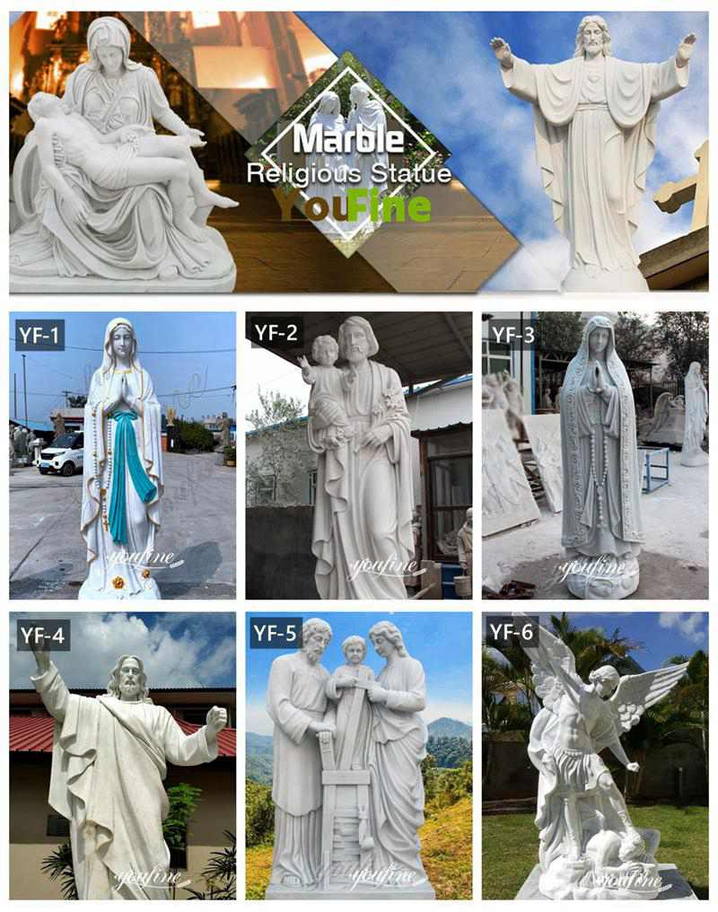 Religious catholic statues of our lady statues for church decoration for sale