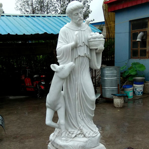 Life size religious statues of St. Francis for sale