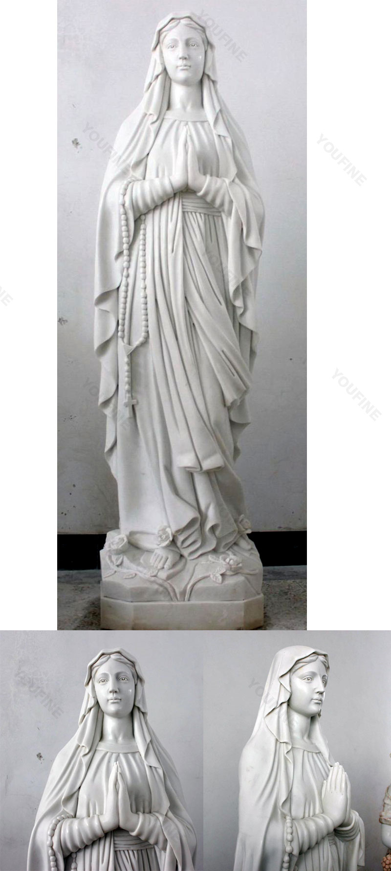 Religious statues of catholic lady statues to buy design