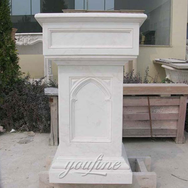 Religious statues of marble pulpit for sale