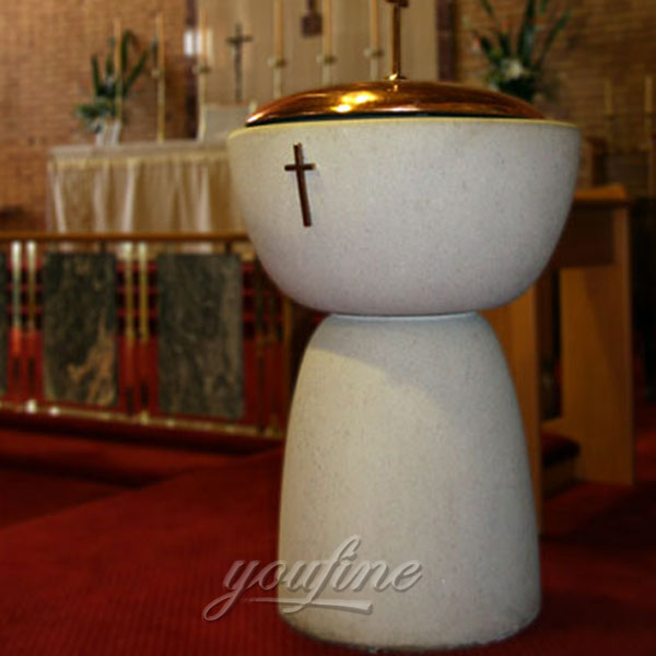 Religious statues of modern font for church use