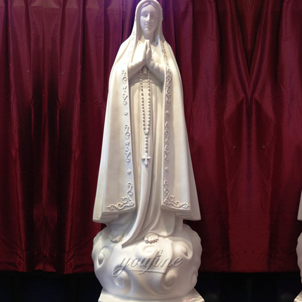 Religious statues of our lady fatima portugal 170cm for church interior decor
