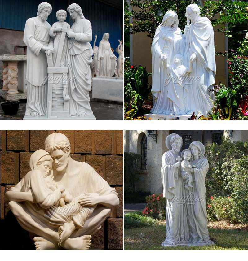Life Size Holy Family Religious Statues of Mary, Joseph and Jesus Related