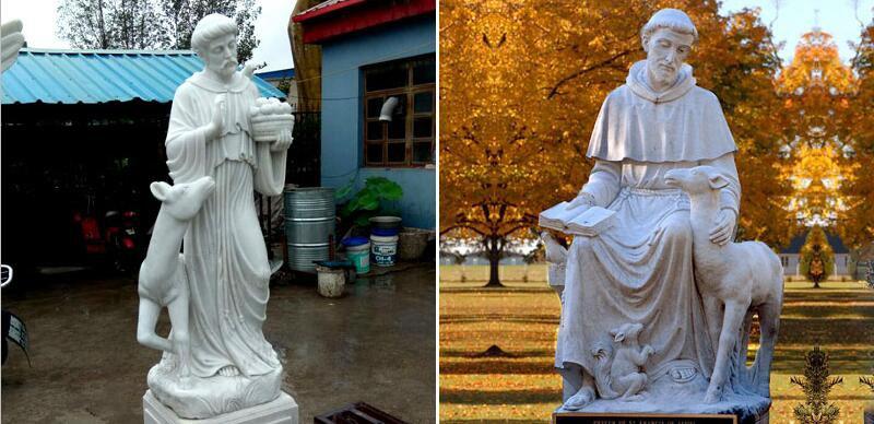 St Francis bird feeder statue other designs