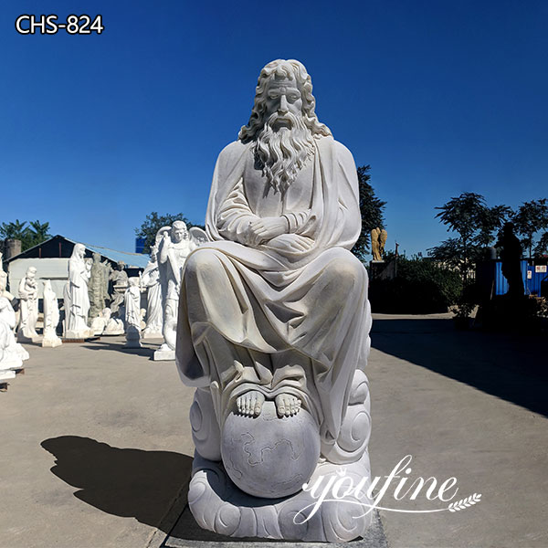 Catholic Church Marble Jesus Statue for Sale CHS-298