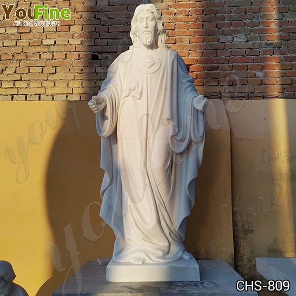 Natural Marble Jesus Statue for Church from Factory Supply CHS-809