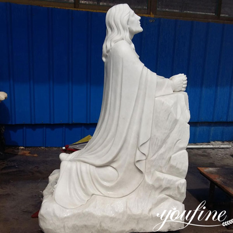 Religious Marble Jesus Statue for Church for Sale CHS-604