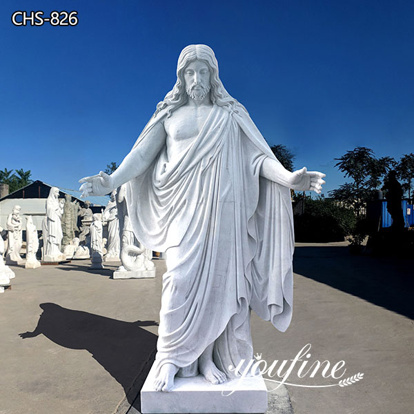 Catholic Marble Jesus Statue for Church from Factory Supply CHS-826